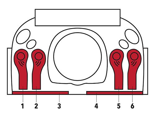 6 Pedal FootDrum